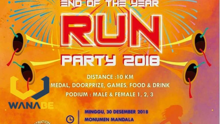 End of The Year Run Party 2018